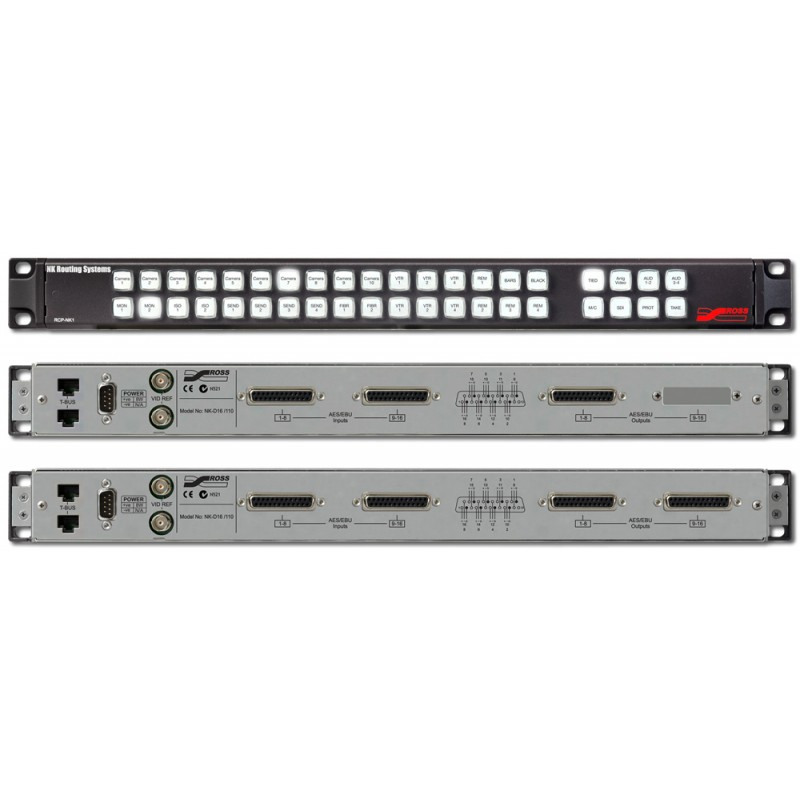 NK-D-110-RCP Series   Audio Routers