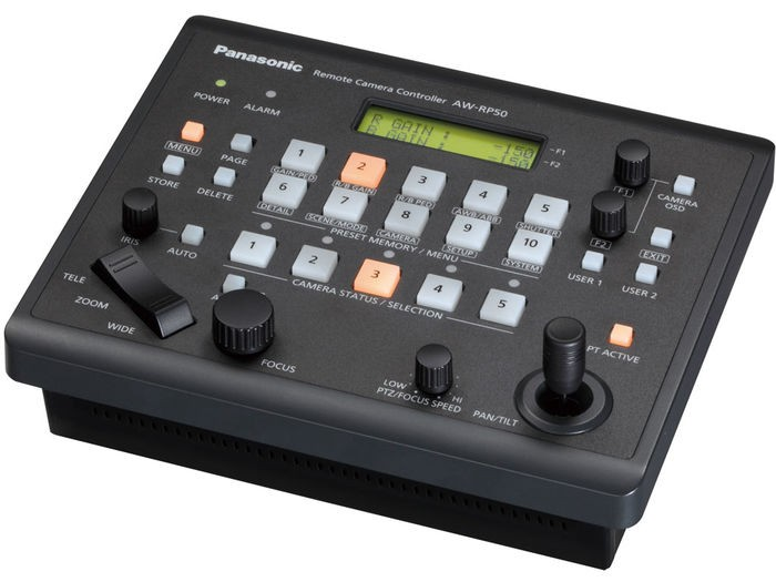 Compact Remote Camera Controller | AW-RP50